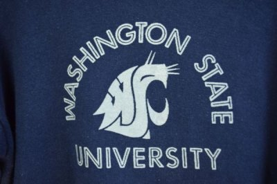 "画像2: 70's バータグ Champion ""WASHINIGTON STATE UNIVERSITY"""