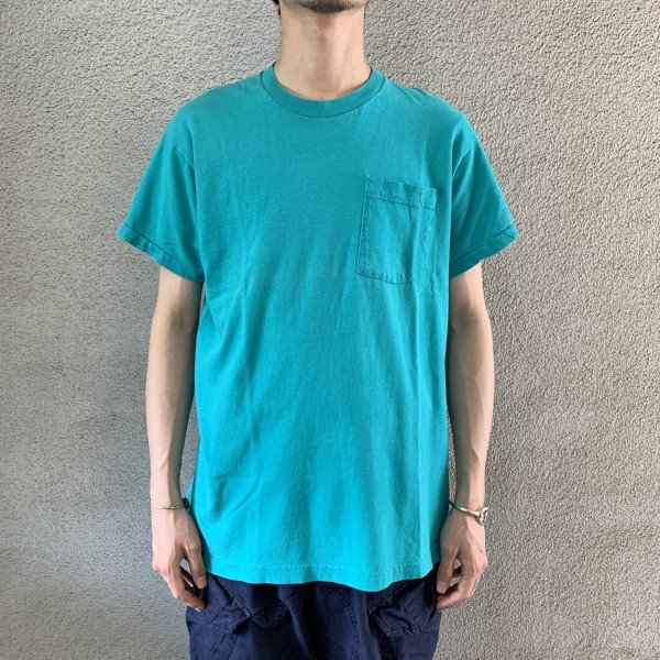 画像1: 70's BVD pocket tee (1)