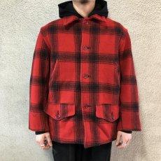 画像2: 40-50's J.C.Higgins wool hunting jacket (2)