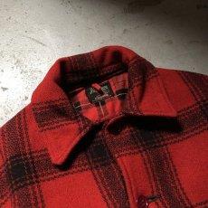 画像9: 40-50's J.C.Higgins wool hunting jacket (9)