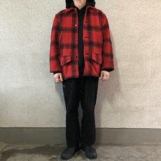 画像5: 40-50's J.C.Higgins wool hunting jacket (5)