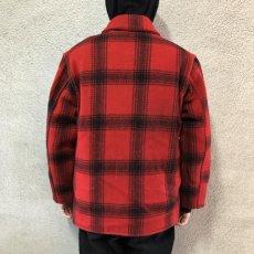 画像4: 40-50's J.C.Higgins wool hunting jacket (4)