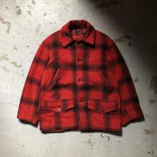 画像6: 40-50's J.C.Higgins wool hunting jacket (6)