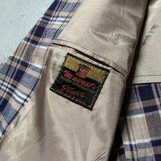 画像11: 60's-70's madras check tailored jacket  (11)