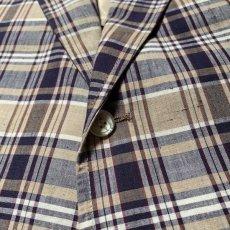 画像10: 60's-70's madras check tailored jacket  (10)