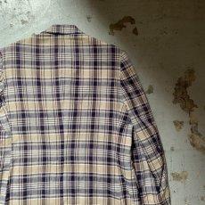 画像13: 60's-70's madras check tailored jacket  (13)