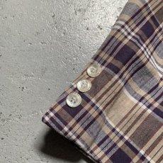 画像9: 60's-70's madras check tailored jacket  (9)