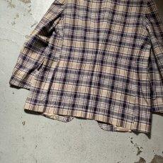 画像15: 60's-70's madras check tailored jacket  (15)