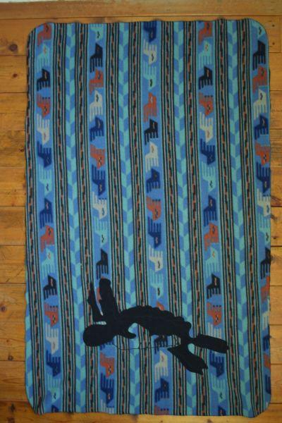 画像1: Patagonia (パタゴニア) synchilla blanket (1)