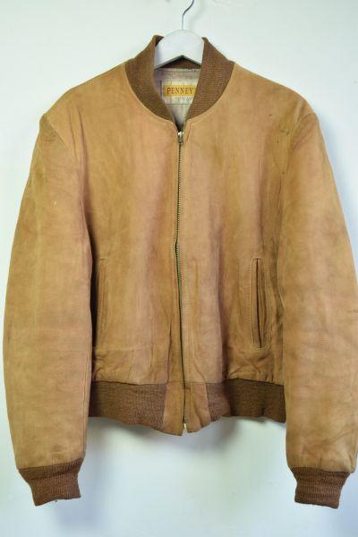 画像1: 50's PENNEY'S Suede jacket (1)