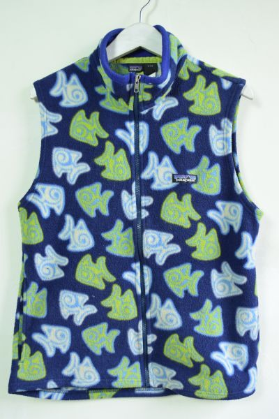 画像1: Patagonia (パタゴニア) fleece vest (1)