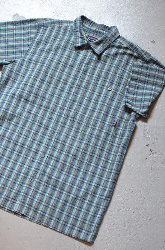 画像1: patagonia s/s check shirt (1)