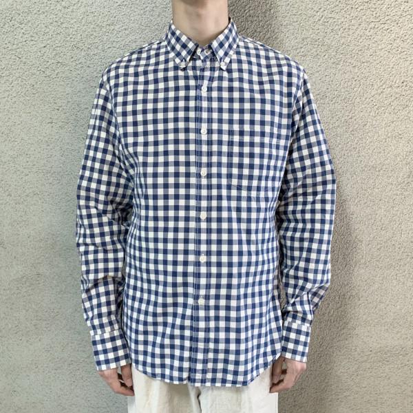 画像1: J.CREW check B/D shirt (1)
