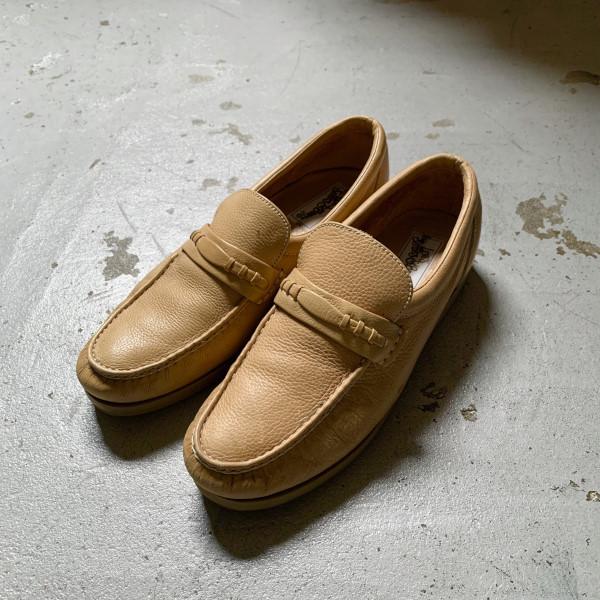 画像1: 70's Levi's leather slip-on (1)