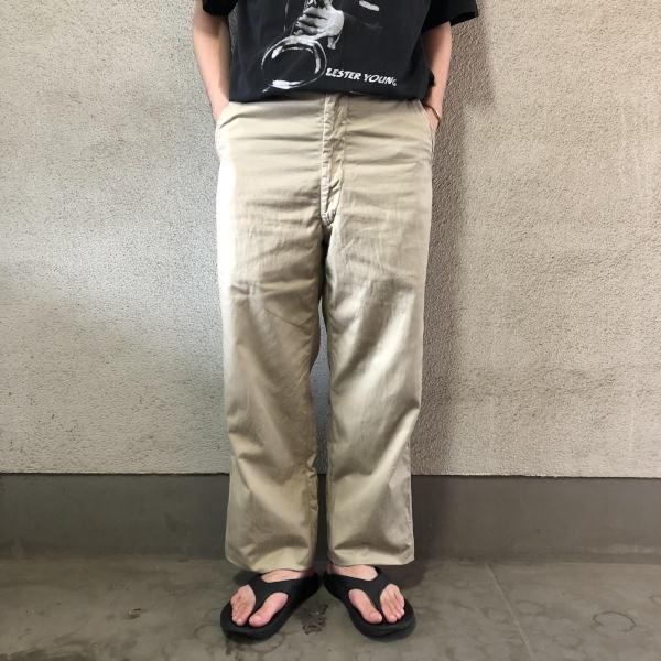画像1: 50's US AIR FORCE tropical trousers (1)
