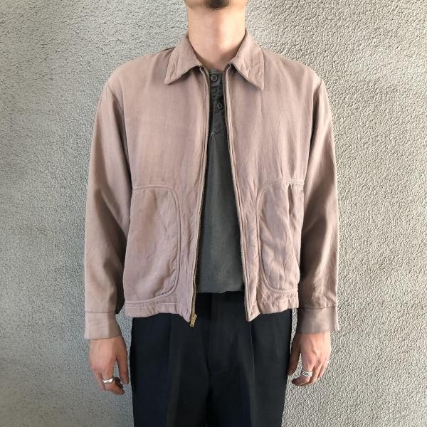 画像1: 50's Long Wear gabardine jacket (1)