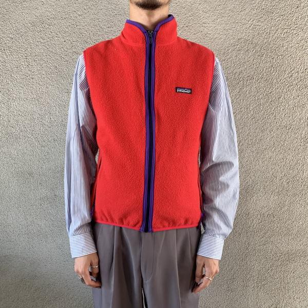画像1: patagonia fleece vest (1)