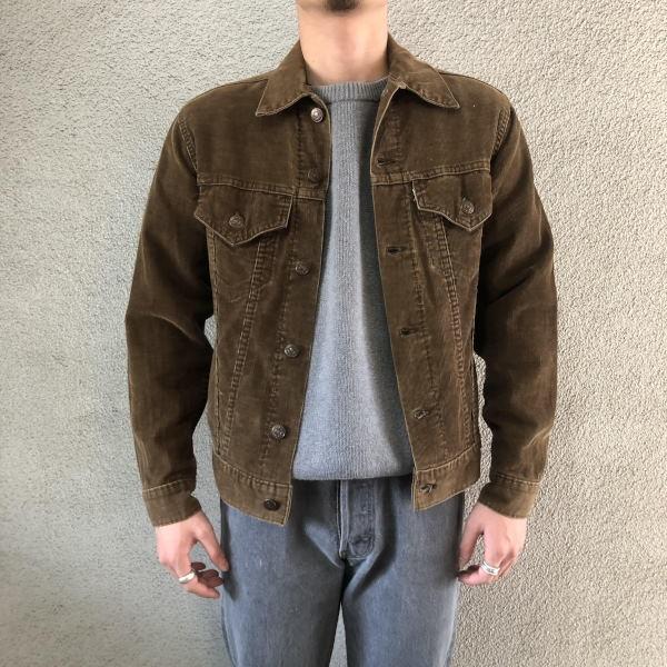 画像1: 70's Levi's 70505 corduroy jacket (1)