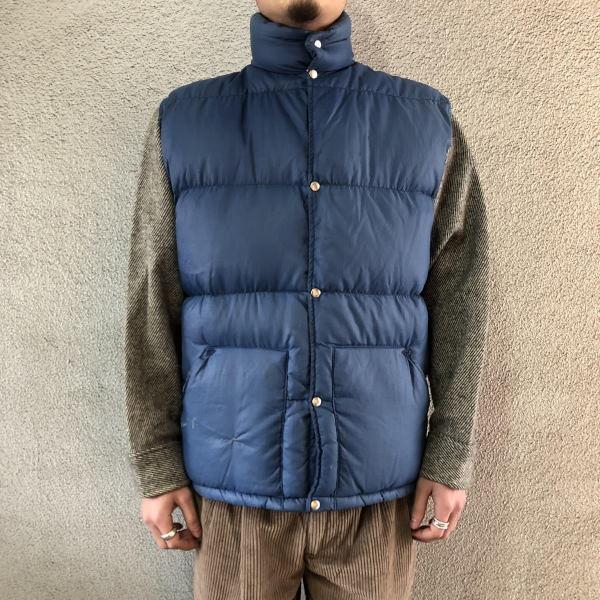 画像1: 70's THE NORTH FACE down vest (1)