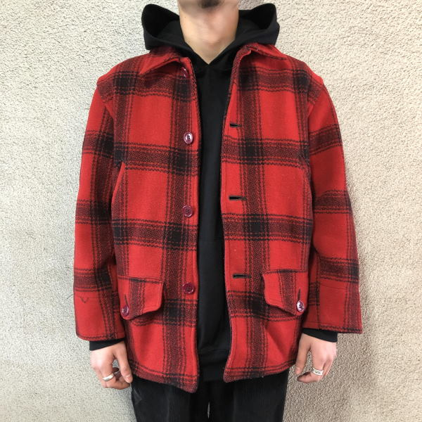 画像1: 40-50's J.C.Higgins wool hunting jacket (1)