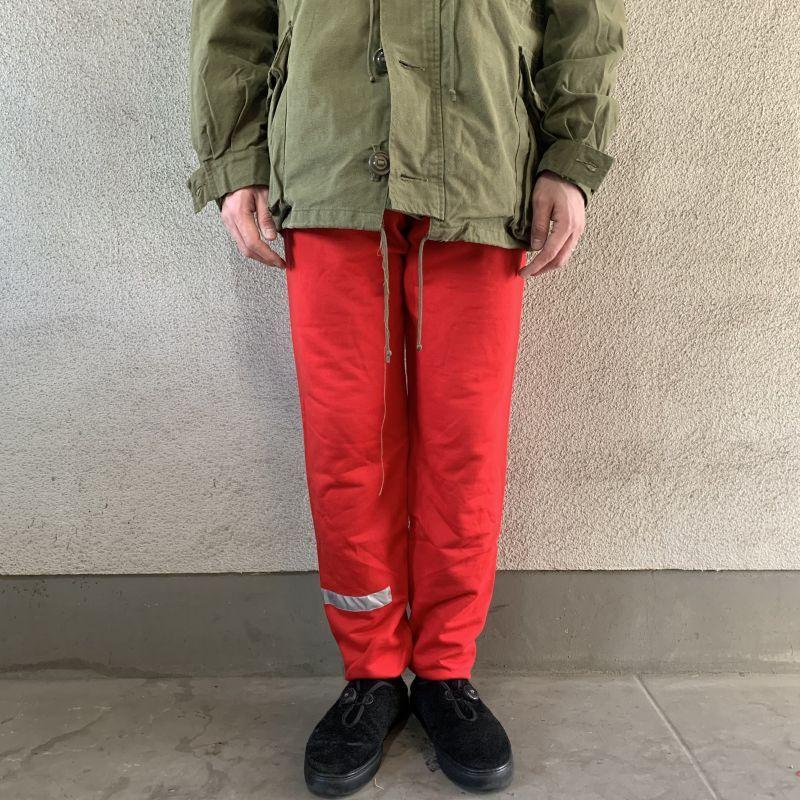 画像1: 90's Danish Army sweat pants -deadstock- (1)