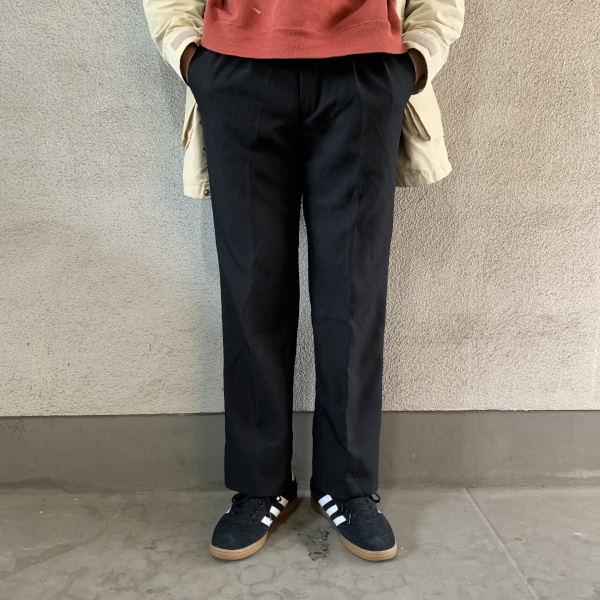 画像1: FARAH 2 tuck slacks (1)