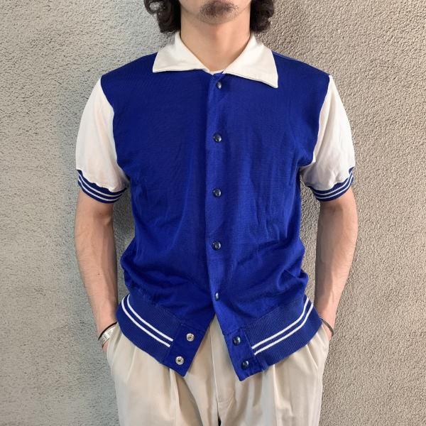 画像1: 50-60's Wilson rayon jersey shirt (1)