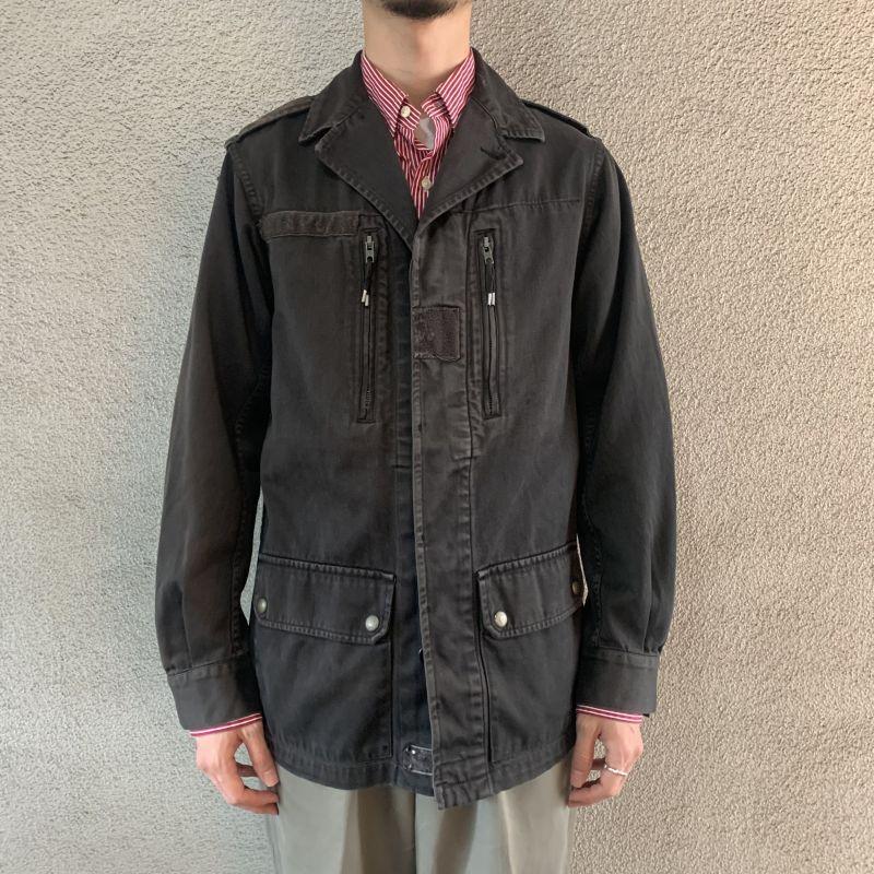 画像1: 80's-90's French military F2 jacket  (1)