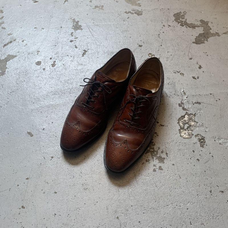 画像1: 80's Johnston & Murphy leather shoes (1)
