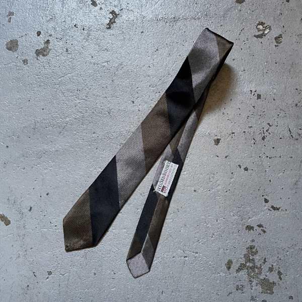 画像1: 60's HIGHBROOKE silk tie (1)