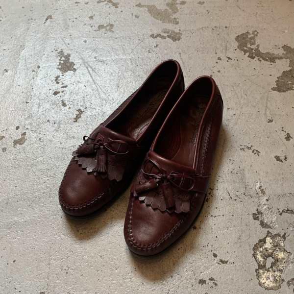 画像1: Johnston&Murphy kilt tassel loafers (1)