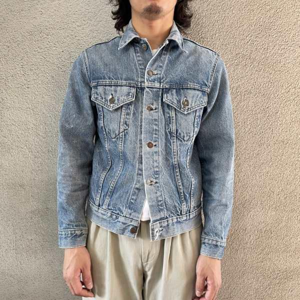 画像1: 70's Levi's 70505 denim jacket (1)