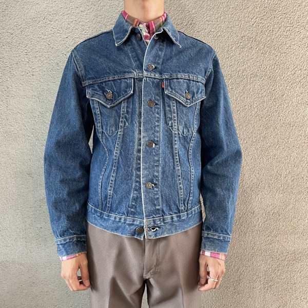 画像1: 70-80's Levi's 70505 denim jacket (1)