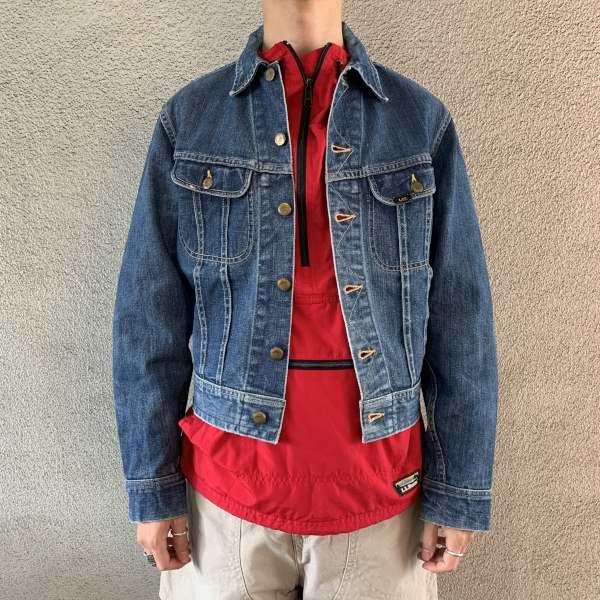 画像1: 60's Lee 101-J denim jacket  (1)