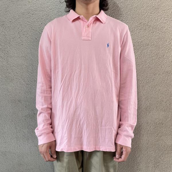 画像1: Ralph Lauren L/S polo shirt (1)