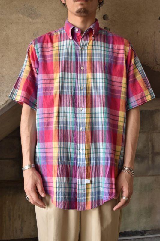 画像1: Ralph Lauren S/S madras check shirt (1)