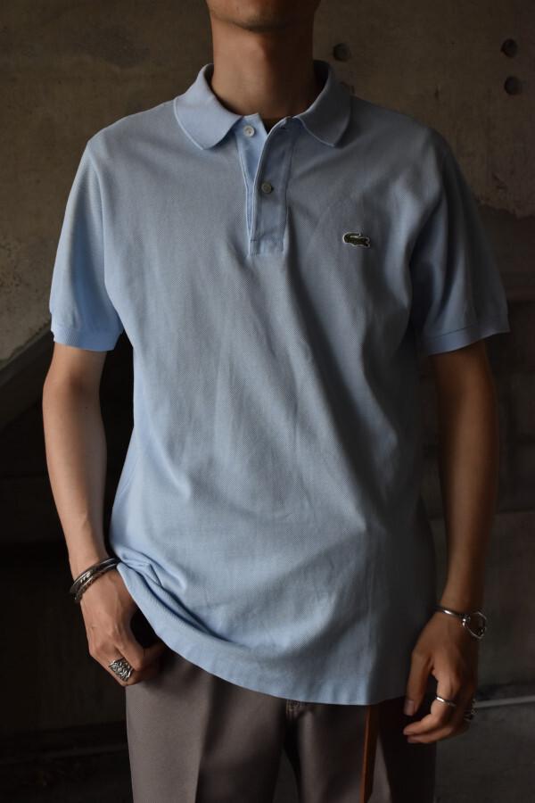 画像1: 80's French LACOSTE S/S polo shirt (1)