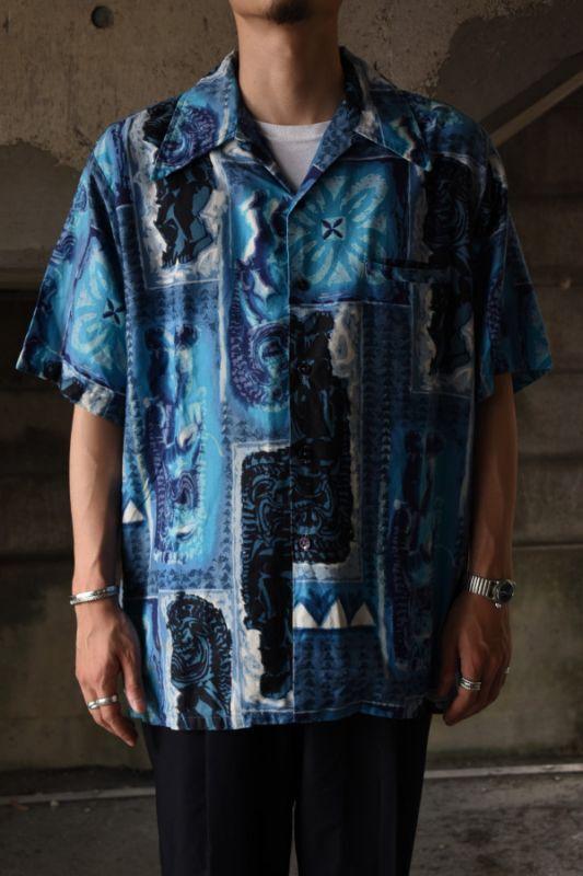 画像1: BaReFoot in PARADISE aloha shirt (1)